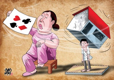 Khi vợ là con ma bài bạc