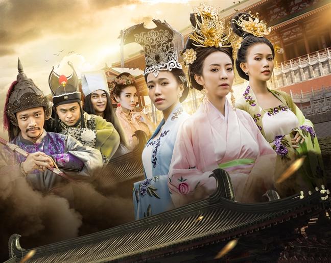 Thu Trang lam phim co trang, cung dau de dua theo xu huong