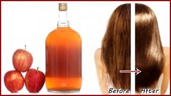 Giấm táo có công dụng gì với mái tóc?
