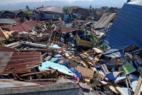 Động đất ở Sulawesi: Hơn 1.200 người thiệt mạng
