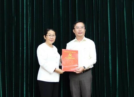 Ông Trần Thế Thuận giữ chức Chánh Văn phòng Thành ủy TP.HCM