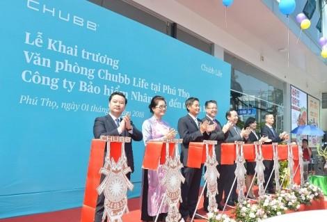 Chubb Life Việt Nam khai trương văn phòng kinh doanh mới tại Phú Thọ