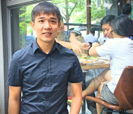 CEO banh mi Xin Chao va cau chuyen 'ca hoi de trung'