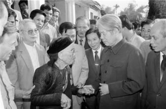 Dấu ấn sự nghiệp của nguyên Tổng bí thư Đỗ Mười qua ảnh
