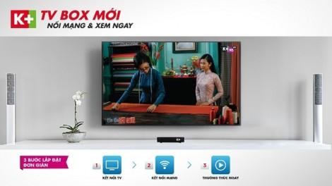 Ra mắt K+ TV Box trên toàn quốc với giá ưu đãi