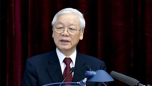 Trung uong gioi thieu Tong Bi thu Nguyen Phu Trong de Quoc hoi bau lam Chu tich nuoc