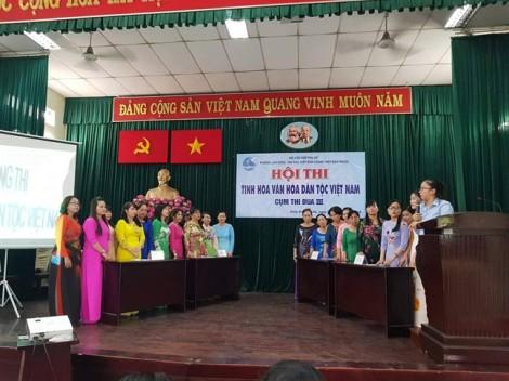 Quận Thủ Đức: Phường Linh Đông đoạt giải nhất Hội thi Tinh hoa văn hóa dân tộc Việt