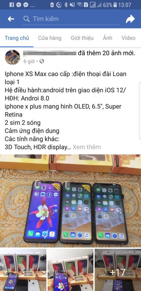 Giật mình với iPhone đời mới giá chỉ 3 triệu đồng
