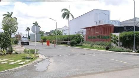 Chủ đầu tư dự án Sai Gon Village thi công hạ tầng không phép
