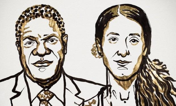 Nobel Hoa binh 2018 vinh danh phong trao dau tranh chong bao luc tinh duc