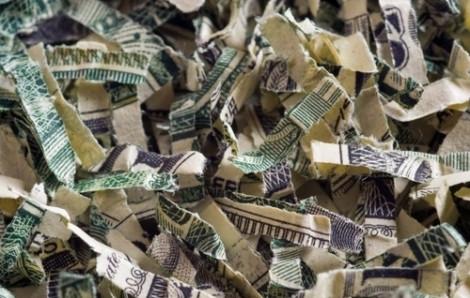Bé 2 tuổi biến 1.000 USD tiền tiết kiệm thành giấy vụn