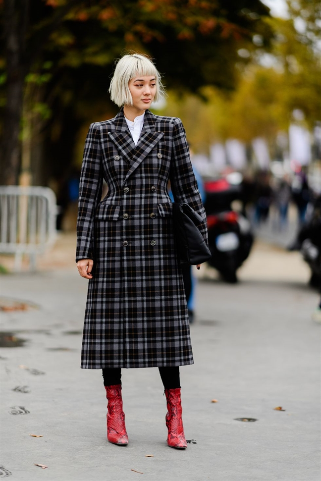 Phoi do thu dong dep nhu cac tin do thoi trang tai Paris Fashion Week