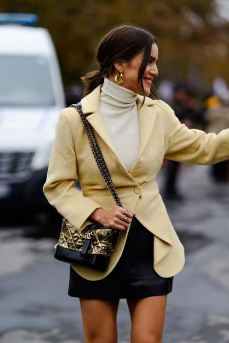 Phối đồ thu đông đẹp như các tín đồ thời trang tại Paris Fashion Week