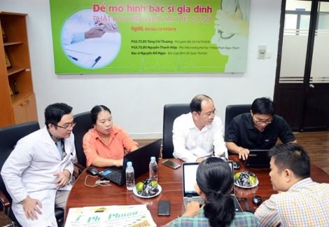 Giao lưu trực tuyến 'Để mô hình bác sĩ gia đình phát huy hiệu quả tại y tế cơ sở'