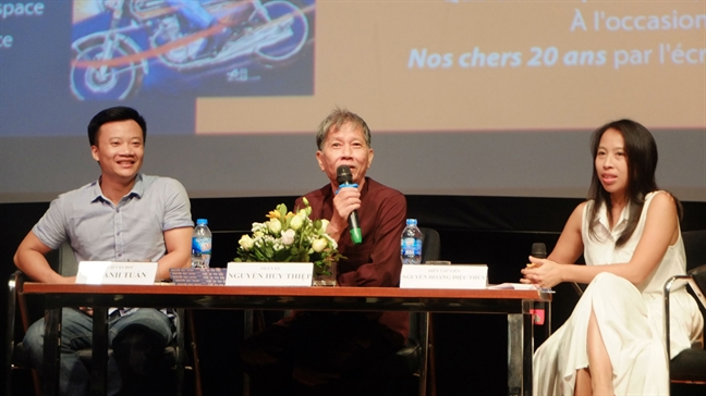 Nha van Nguyen Huy Thiep: Thang than, bao dung va  trach nhiem voi 'Tuoi 20 yeu dau'