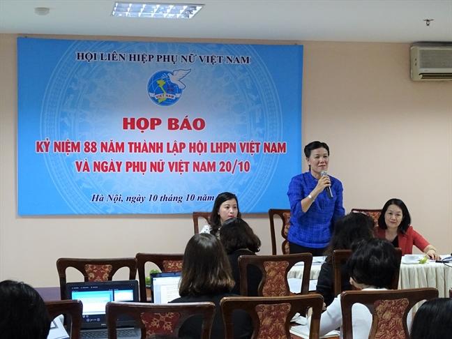 Trao Giai thuong Phu nu Viet Nam cho 15 ca nhan, tap the xuat sac
