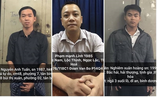 Khoi to 5 doi tuong bat coc doanh nhan de cuong doat tai san