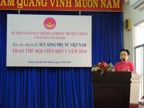Hội Nữ trí thức TP.HCM: Phát triển hơn 200 hội viên