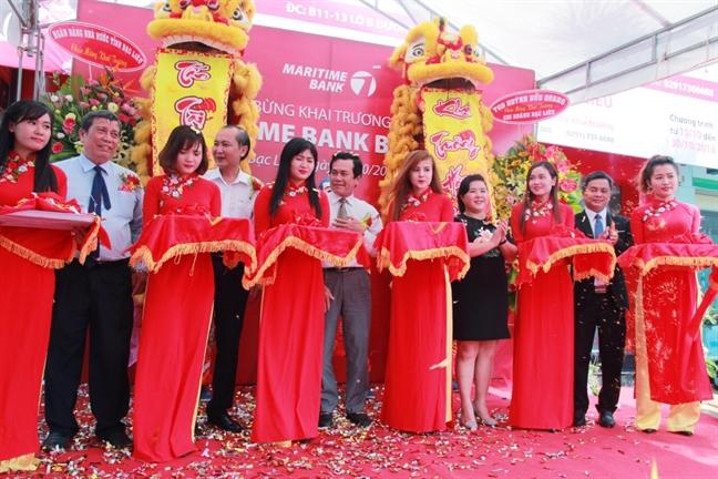 Maritime Bank khai truong chi nhanh Bac Lieu