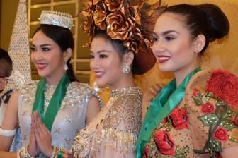 Việt Nam đạt huy chương vàng trang phục truyền thống tại 'Hoa hậu Trái đất'