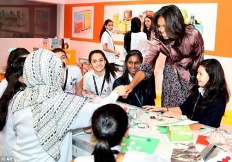 Cựu Đệ nhất phu nhân Michelle Obama nỗ lực vì trẻ em gái toàn cầu