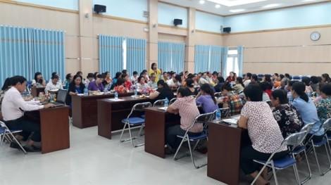 Quận 8: Phụ nữ hiến kế về giảm nghèo bền vững