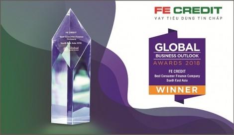 FE Credit được đánh giá là 'Công ty tài chính tiêu dùng tốt nhất Đông Nam Á 2018' theo Global Business Outlouk