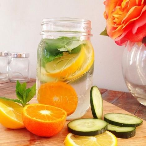 Mách bạn cách làm nước detox đẹp da, giải nhiệt mùa hè