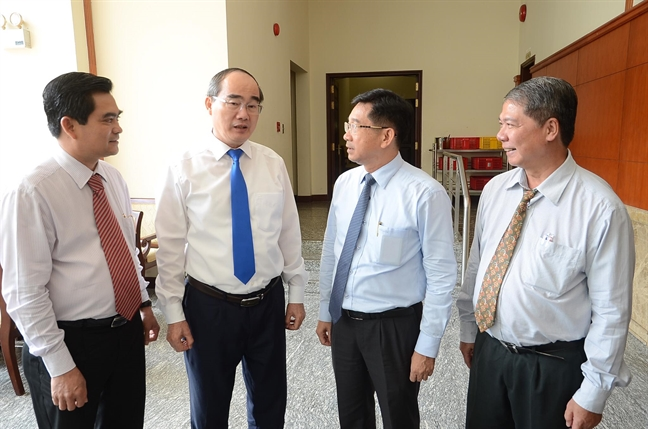Bi thu Thanh uy TP.HCM: Van phong Thanh uy se khong lam nhiem vu kinh doanh nua