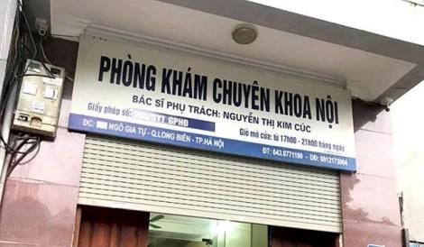Vụ bệnh nhi ở Hà Nội tử vong sau khi truyền dịch: Phòng khám không có chức năng truyền dịch