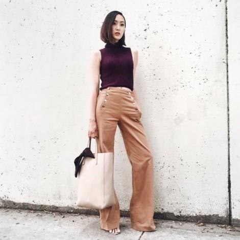 Học cách phối đồ của Chriselle Lim để đẹp từ nhà ra phố