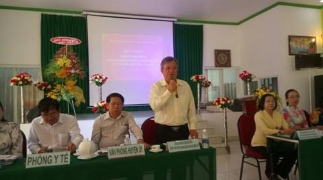 Huyện Củ Chi: Lãnh đạo huyện đối thoại cùng cán bộ, hội viên
