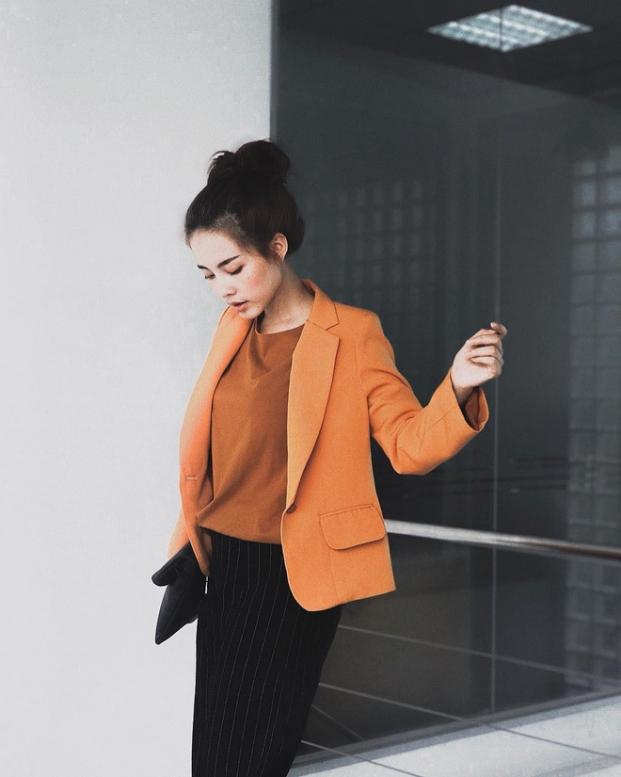 5 mau blazer dep chuan chinh mua thu dong