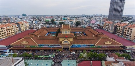 TP.HCM: Chợ Bình Tây được trùng tu đạt yêu cầu di tích