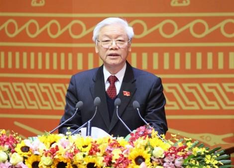 Chính thức giới thiệu Tổng Bí thư Nguyễn Phú Trọng để Quốc hội bầu giữ chức vụ Chủ tịch nước