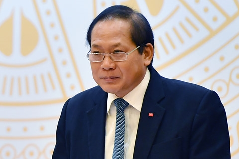 Mien nhiem chuc Bo truong Bo Thong tin va Truyen thong cua ong Truong Minh Tuan