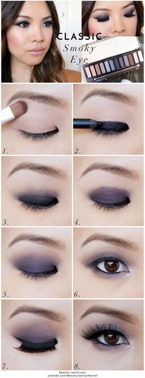 5 kiểu trang điểm tuyệt đẹp cho nàng mắt một mí