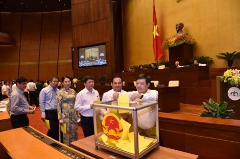 Quốc hội trình danh sách 48 người lấy phiếu tín nhiệm