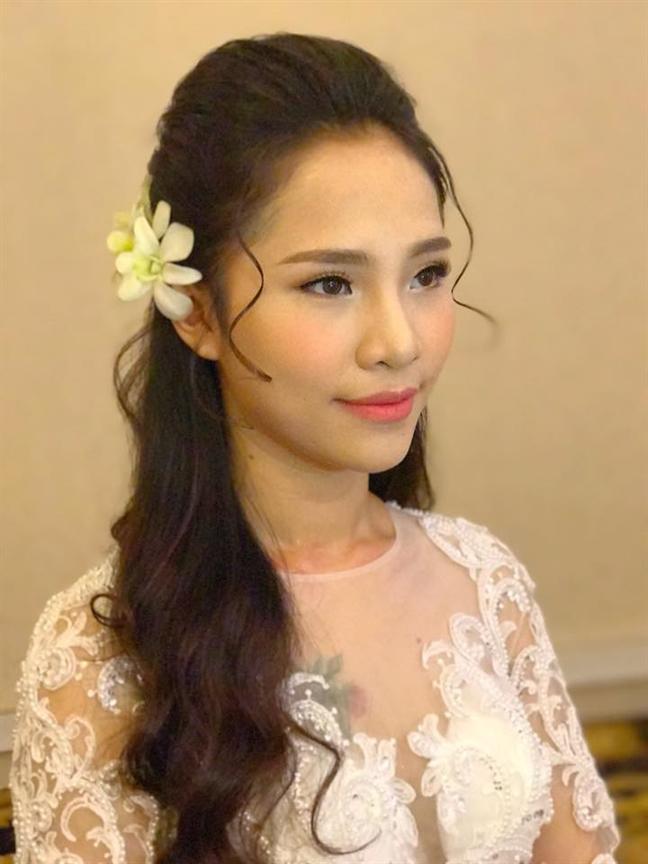 Phong cach toc co dau Han Quoc van 'chiem song' trong mua cuoi 2018