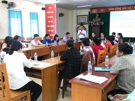 Huyện Nhà Bè: Phụ nữ kiến nghị về tình hình an ninh trật tự và vệ sinh môi trường