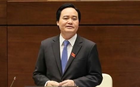 Bộ trưởng Phùng Xuân Nhạ nói gì khi nhận số phiếu tín nhiệm thấp nhiều nhất?