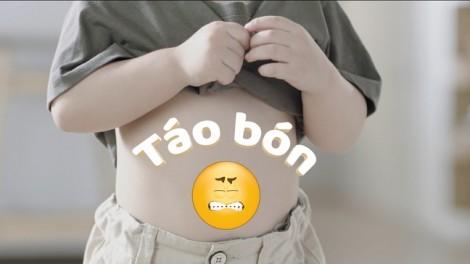 Tư vấn dinh dưỡng: Táo bón ở trẻ nhỏ - hầu hết do ăn uống và sinh hoạt