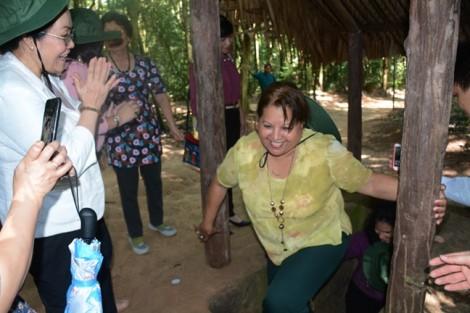 Hội LHPN TP.HCM tiếp Liên đoàn Phụ nữ Cuba thăm TP.HCM
