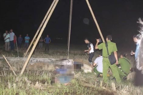 Người thân khóc ngất bên quan tài bốn người bị điện giật tử vong