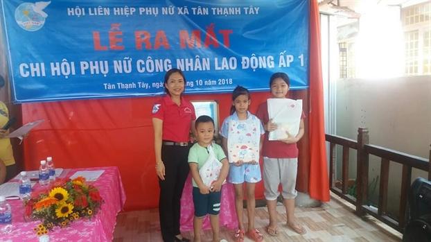 Huyen Cu Chi: Ra mat them mot chi hoi Phu nu cong nhan lao dong