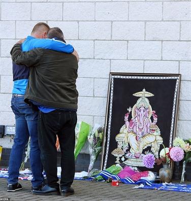 Roi truc thang Leicester: Phi cong cuu mang hang tram nguoi truoc khi may bay no