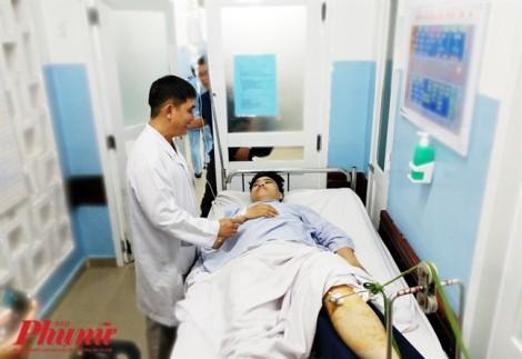 Người bị thương nặng nhất trong vụ tai nạn ở Hàng Xanh có thể bị tổn thương não