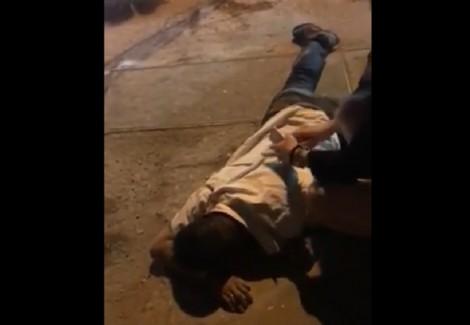 Hà Nội: Cãi nhau do va chạm, lái xe Mazda rút súng bắn tài xế taxi