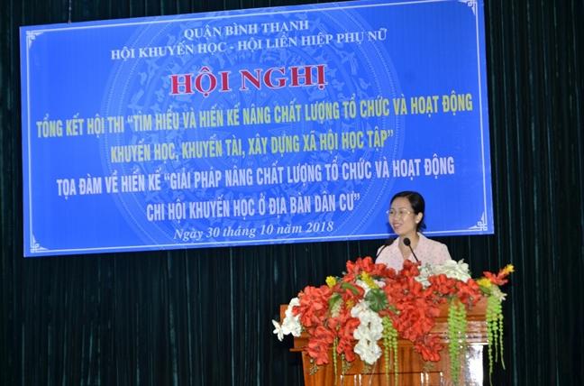 Binh Thanh: Day manh phong trao khuyen hoc, khuyen tai