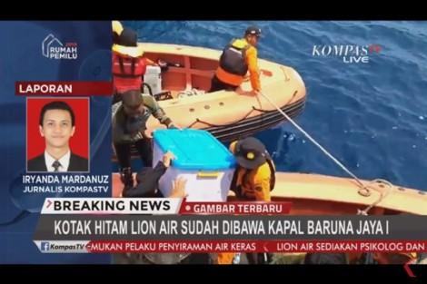 Vụ máy bay rơi Indonesia: Hộp đen máy bay 'trong tình trạng tốt'